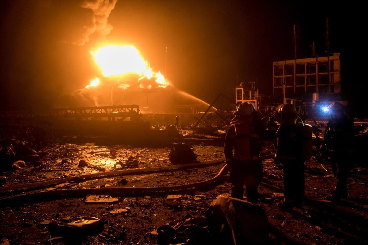China: Aumentó a 44 la cifra de muertos por la explosión en planta química