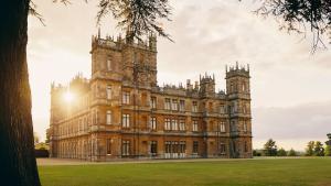 El castillo de Highclere donde se rodaron las 6 temporadas de 'Downton Abbey'.