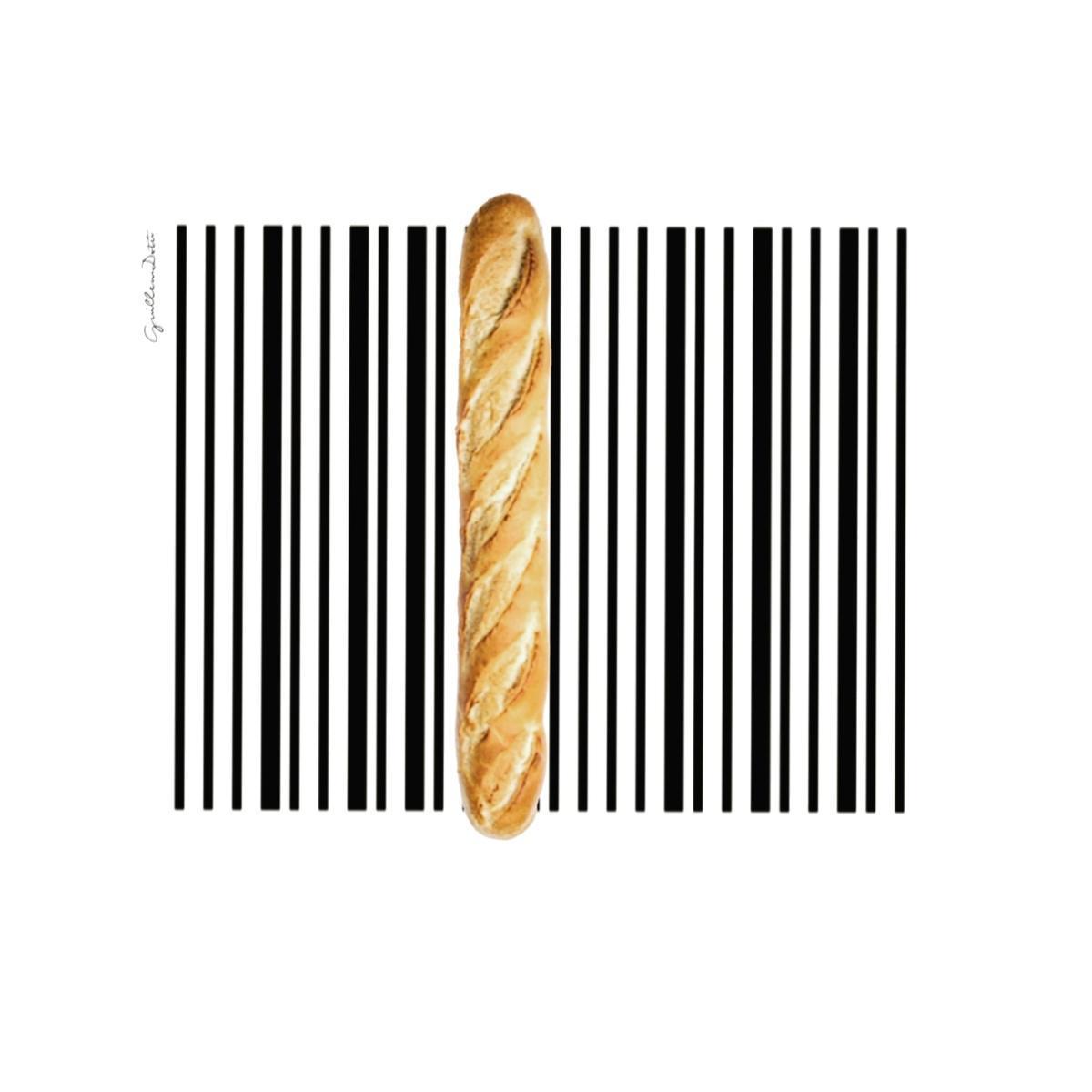 'Código de barras', poema visual de Guillem Dotú
