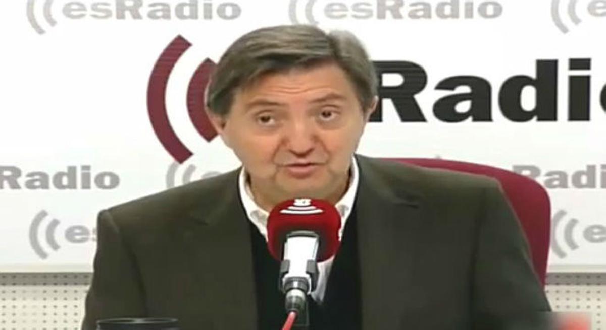 Federico Jiménez Losantos llama banda y mamarrachoa al partido que lidera Pablo Iglesias.