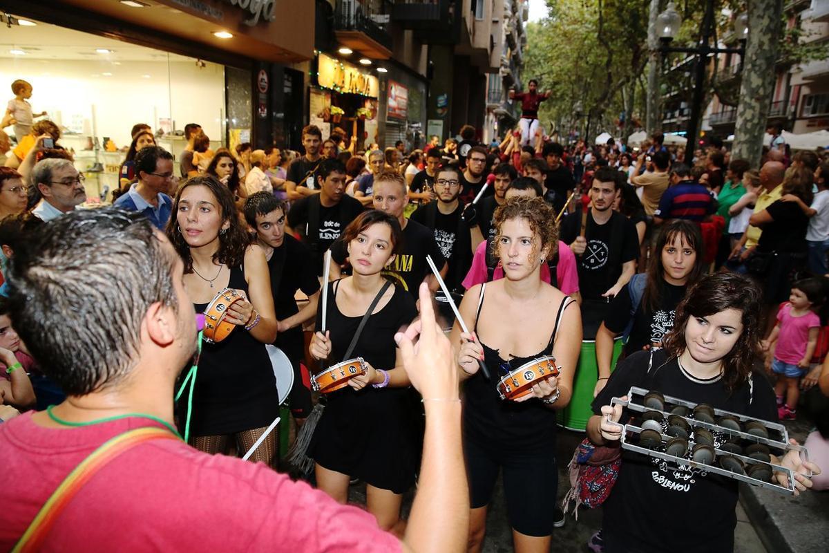 Una imagen de archivo de la Festa Major del Poblenou