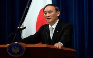 Yoshihide Suga, primer ministro de Japón.