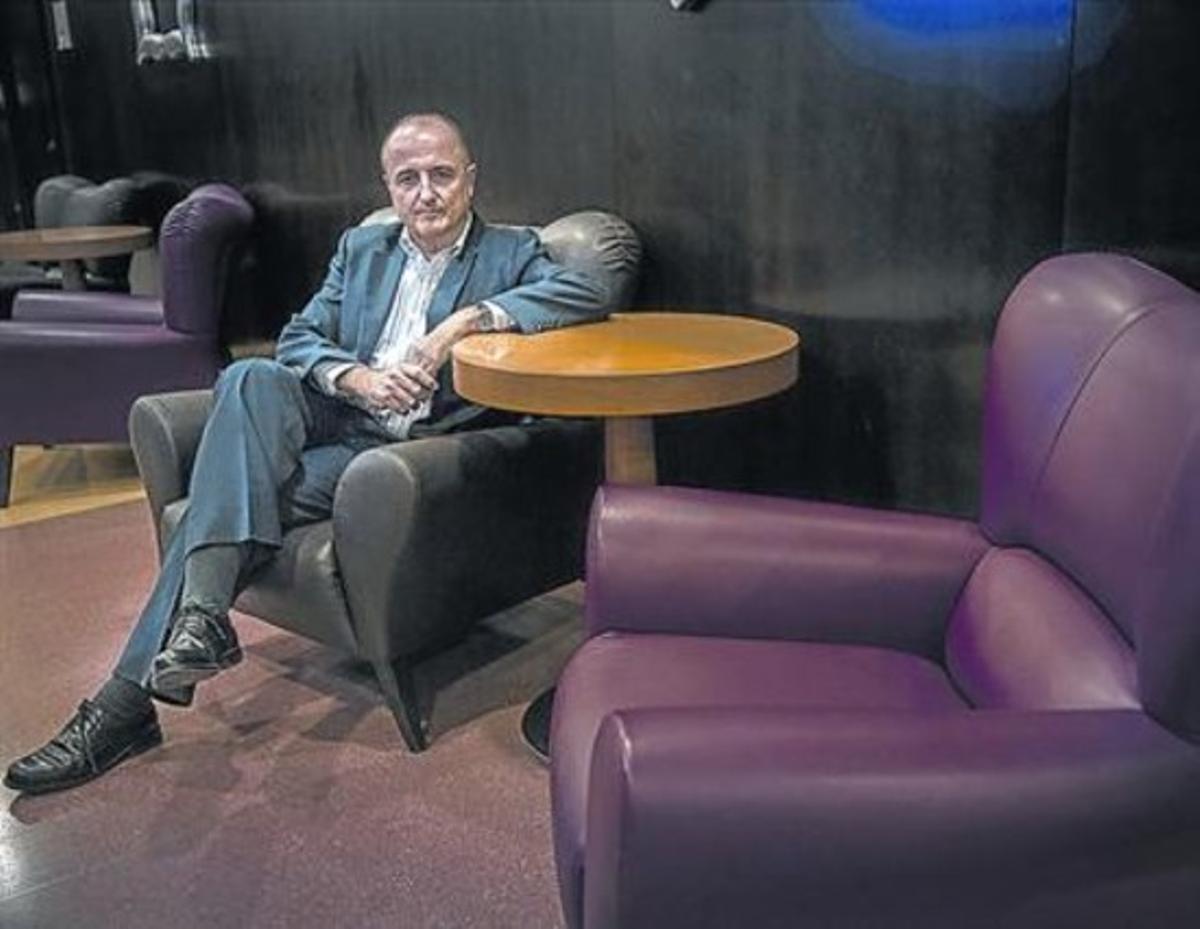 Miguel Sebastián, ayer, en el hotel Novotel Cornellà.