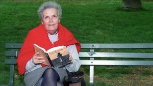 Teresa Pàmies, en 1993.