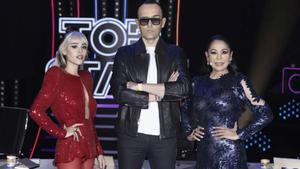 Las primeras declaraciones de Isabel Pantoja, Risto Mejide y Danna Paola tras el inicio de las grabaciones de 'Top Star'