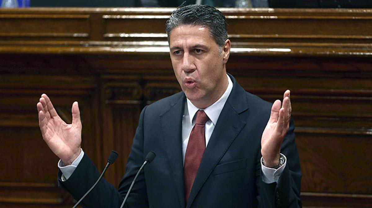 Xavier GarcíaAlbiol, a Carles Puigdemont: Ni usted ni nadie iniciará un proceso de ruptura.