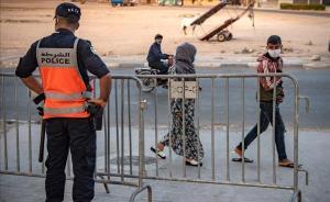 Medidas de precaución por el covid-19 en la ciudad marroquí de Safi.