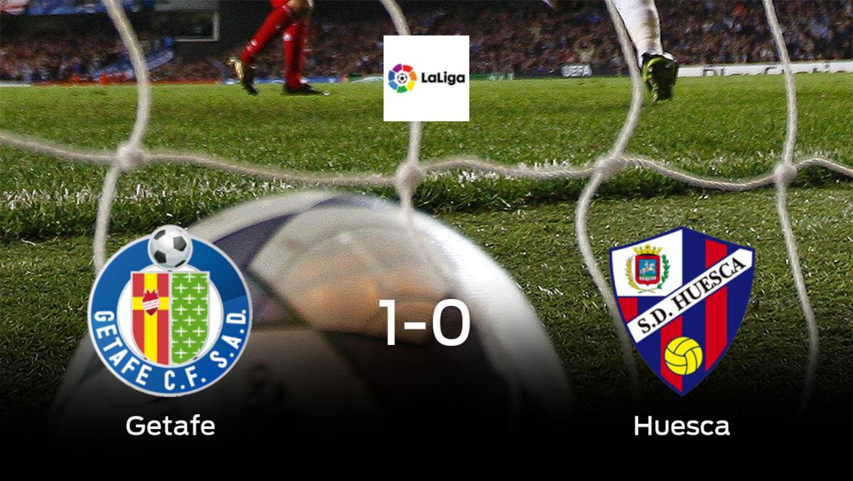 1-0: El Getafe se impone al Huesca en casa