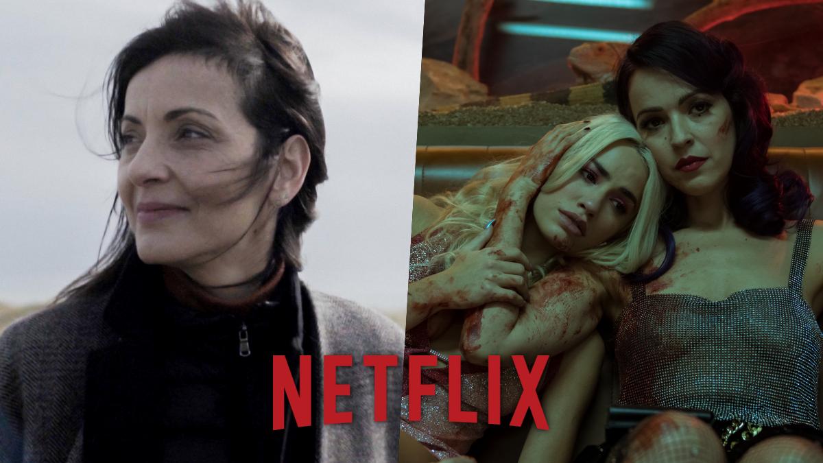 Imagénes de 'Nevenka' y 'Sky Rojo', estrenos destacados de Netflix en marzo.