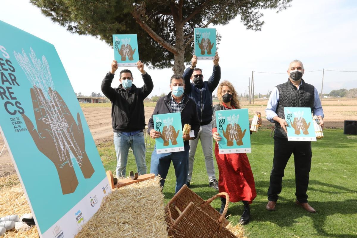 Presentación de la feria 'Temps d'Espàrrecs' el pasado dia 25 de marzo