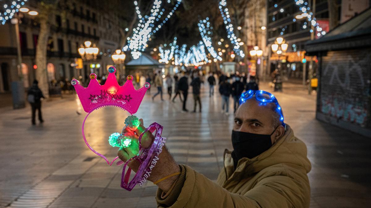 Nochevieja en Barcelona