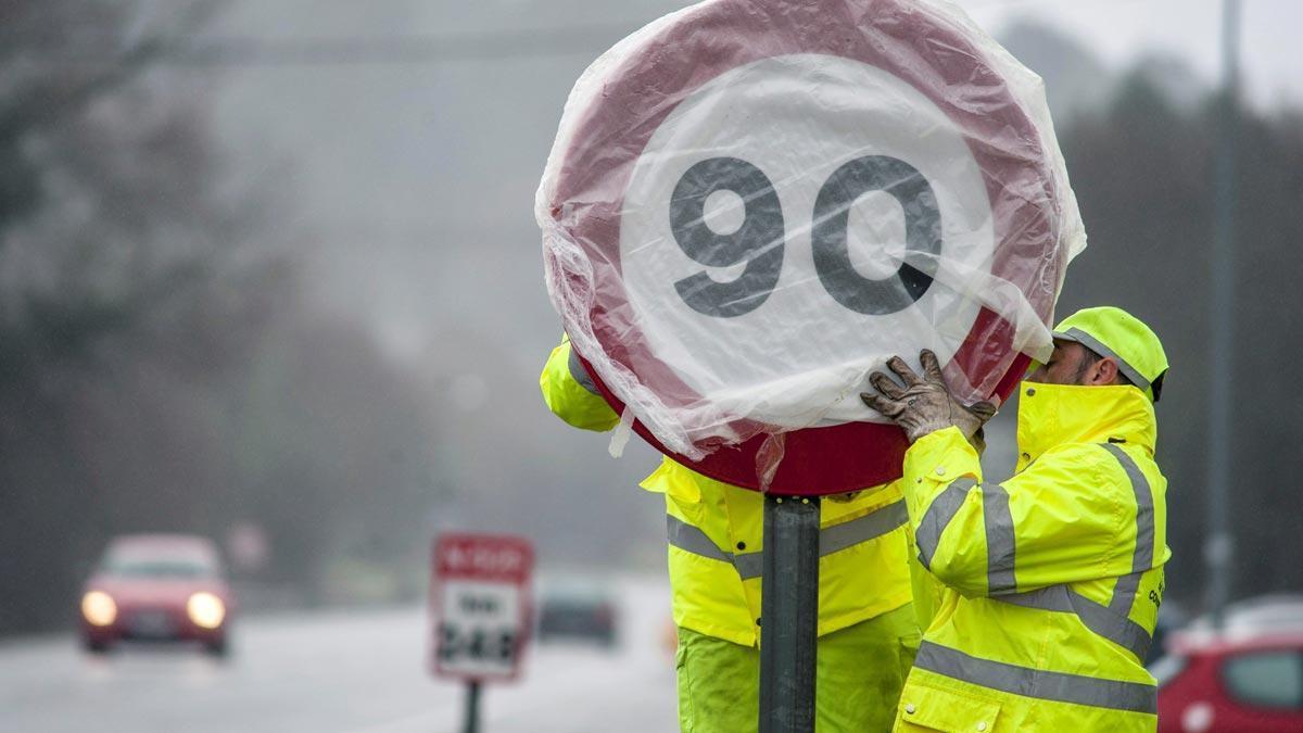 Tráfico quiere eliminar los 20 km/h extra en los adelantamientos