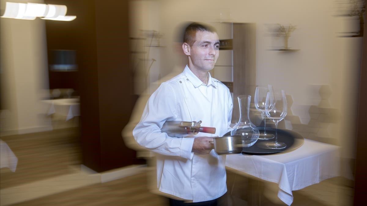 La Forquilla, donde cocina (muy bien), sirve y limpia la misma persona
