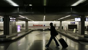 Zona de recogida de equipajes del Aeropuerto Internacional O'Hare de Chicago