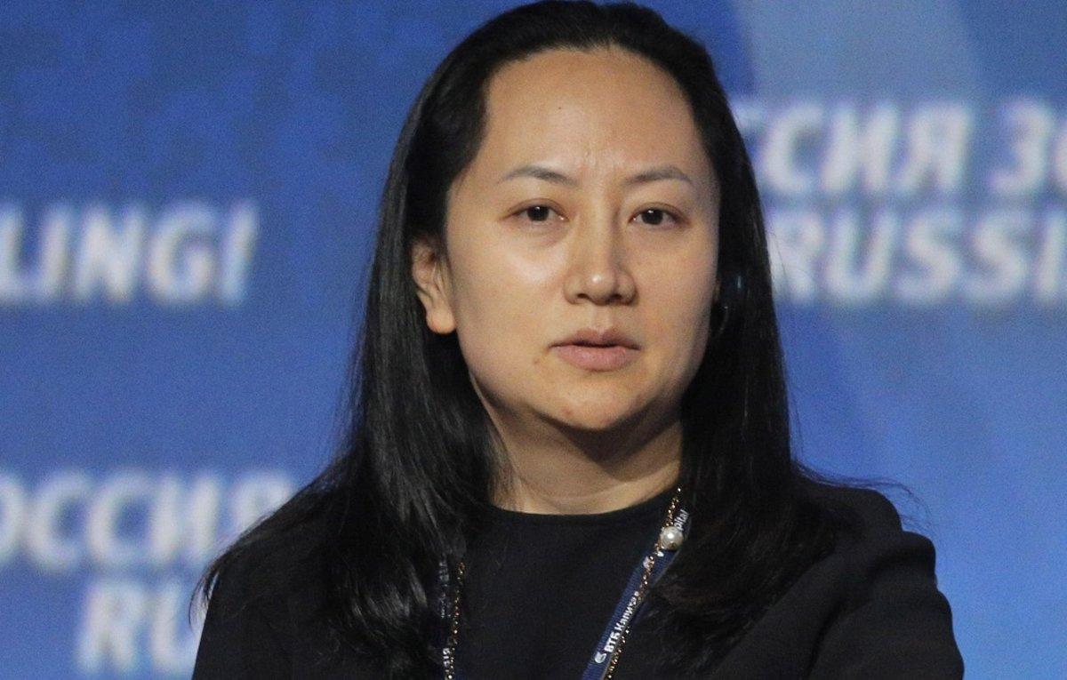 Wanzhou Meng,directora financiera de Huawei.