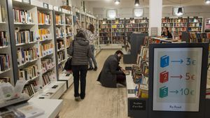 Una librería de Barcelona.