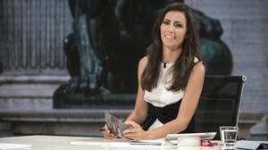 La periodista Ana Pastor, directora y presentadora del programa informativode La Sexta 'El objetivo'.