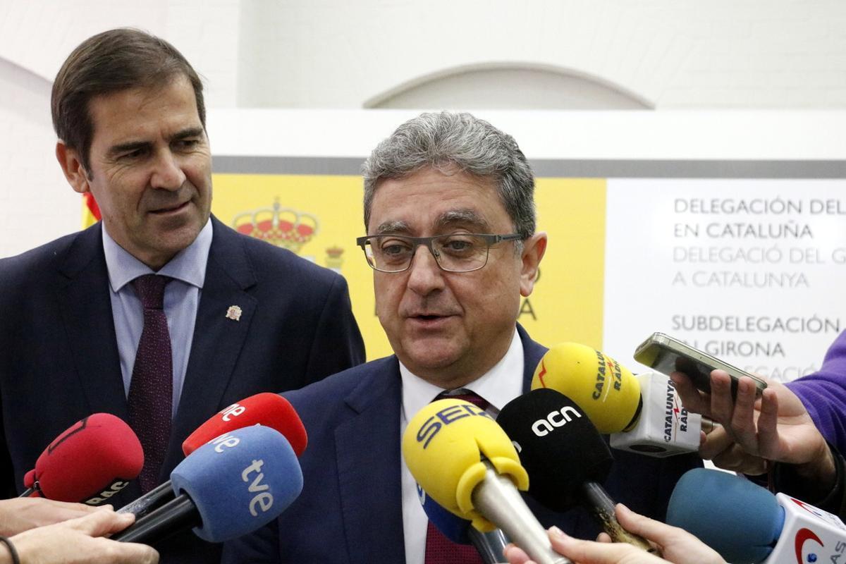 El delegado del Gobierno en Catalunya, Enric Millo,critica aPuigdemont por pensar que los votos lo han exculpado de las acusaciones que le formula Fiscalía.