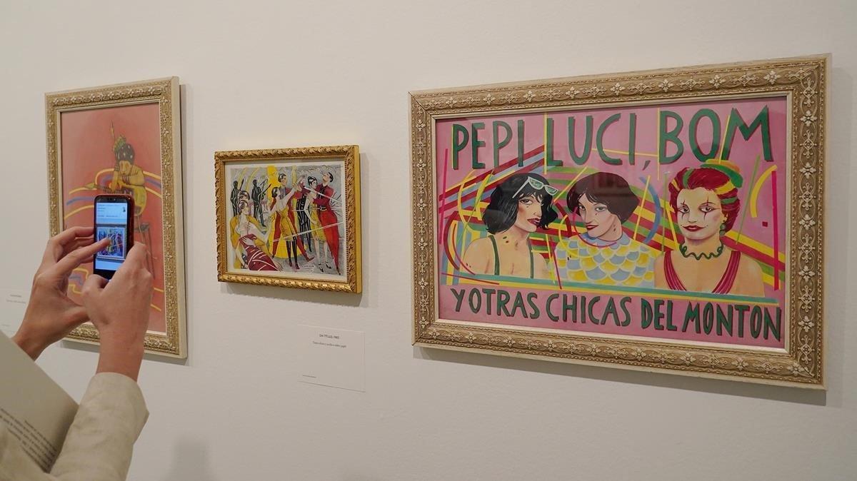 Exposición 'Vicio modernos' en La Casa Encantada de Madrid sobre la obra de Ceesepe