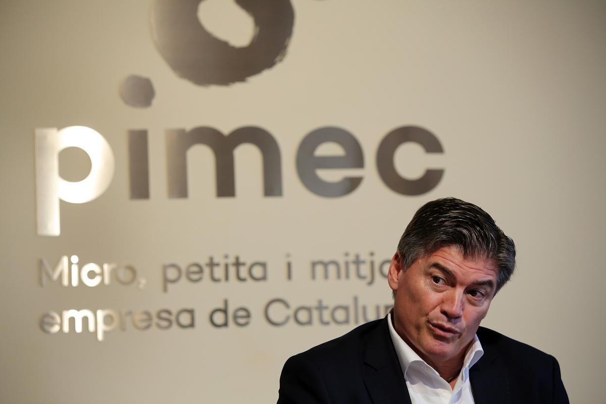 Antoni Cañete, nuevo presidente de Pimec.