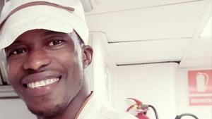 Souleymane, el joven de Guinea Conakry, rescatado en verano del 2018 por el 'Open Arms'.