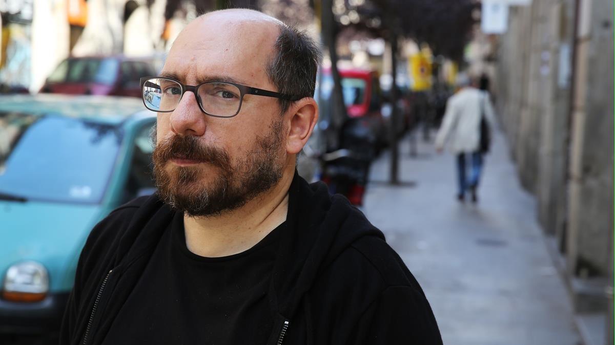 Javier Blánquez, autor de 'Loops' y 'Loops 2'