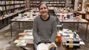 Isabel Sucunza, de la librería Calders.