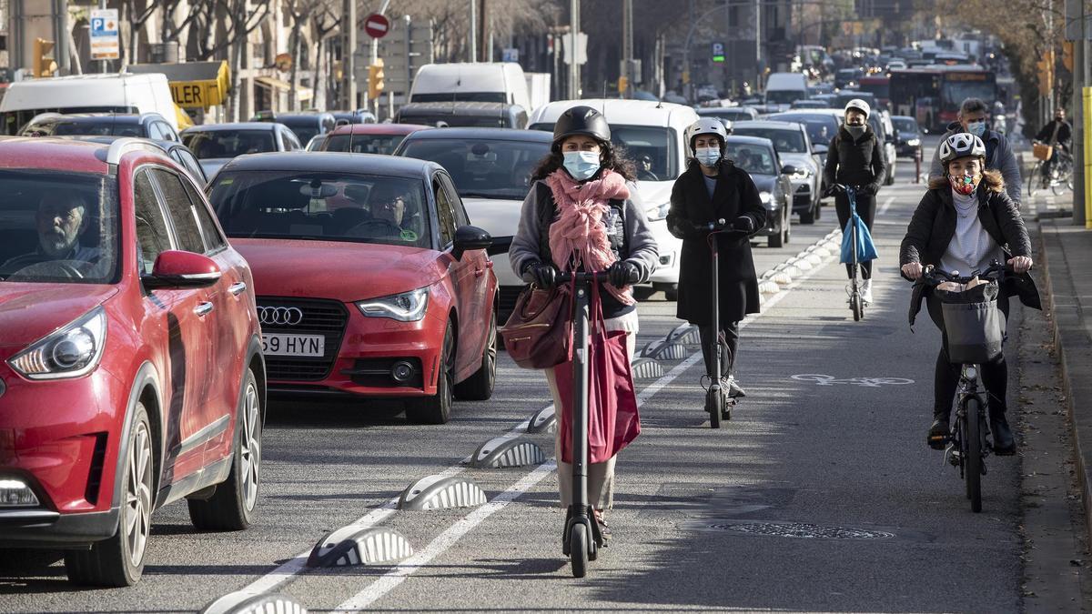L'esmena d'un taxista a la nova mobilitat barcelonina