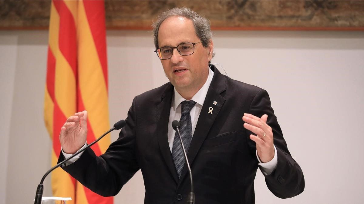 Torra critica a Zapatero por su visión del proceso estatutario
