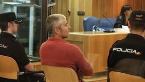 Txapote, durant el judici a l'Audiència Nacional, el 5 de juliol del 2010.