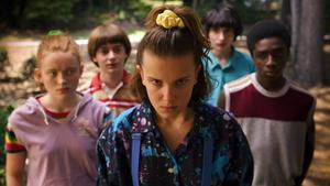 Una imagen de la tercera temporada de 'Stranger things'.