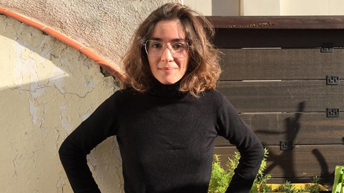 La escritora catalana, ganadora del Premio Documenta, Irene Pujadas.