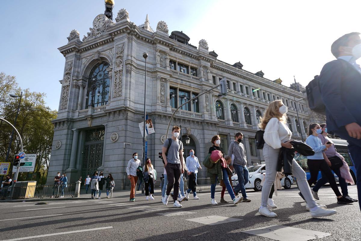 Fachada edificio Banco de España   Imagen DAVID CASTRO