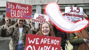 Escocia será el primer país en acabar con la pobreza menstrual