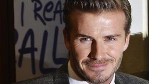 David Beckham, en diciembre del 2012.