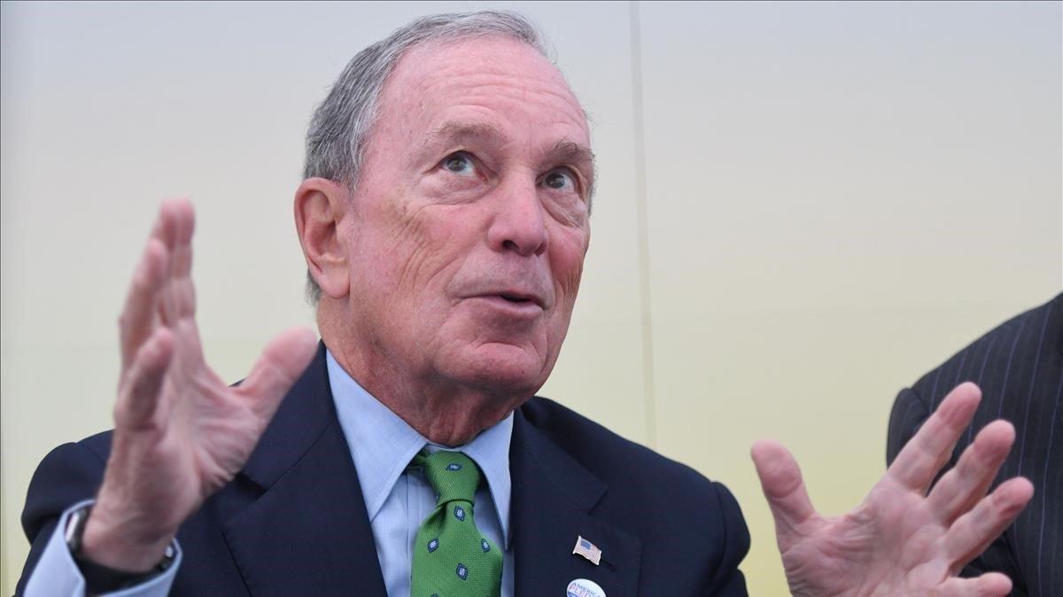 Michael Bloomberg, en una imagen de archivo de noviembre del 2017.