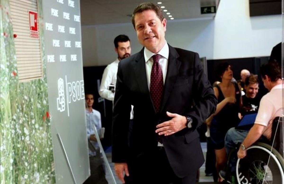 El presidente de Castilla-La Mancha, Emiliano García Page, en una imagen de julio del 2016.