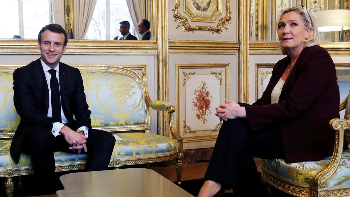 Macron i Le Pen mesuren les seves forces a les urnes en l'últim test abans de les presidencials