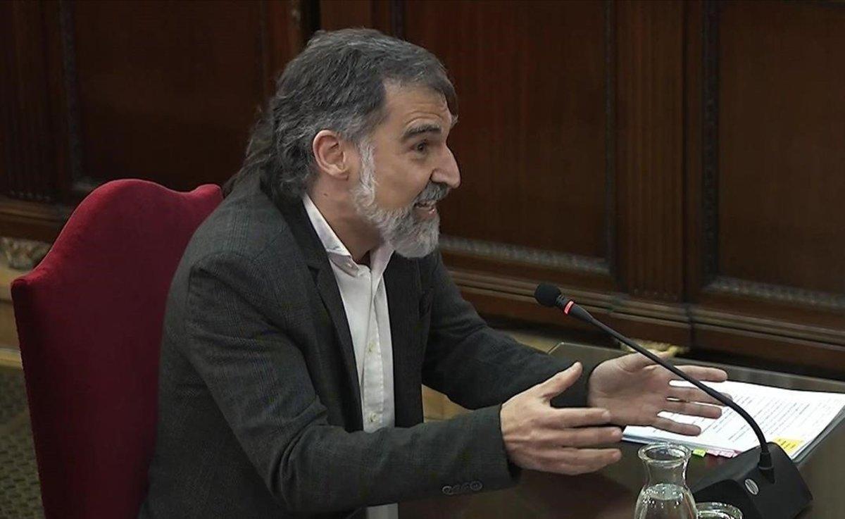 """Cuixart pide diálogo: """"La violencia del Estado debe dejar lugar a la palabra"""""""