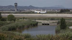 El 'aeromuerto' de Barcelona