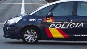 Foto de recurso de un vehículo de la Policía Nacional.