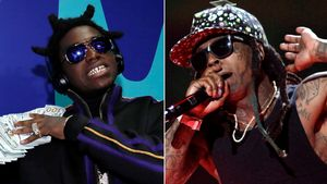 Kodak Black y Lil Wayne.