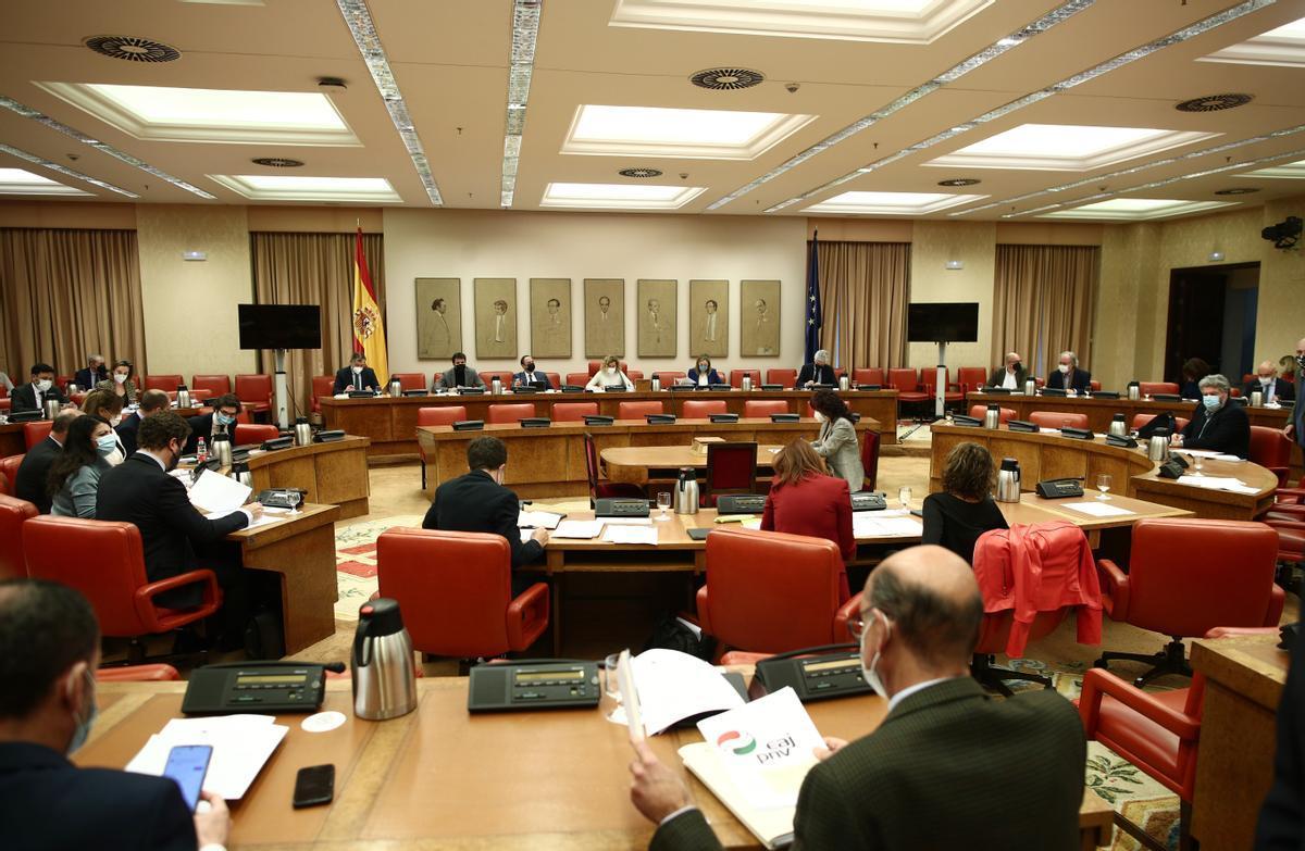 La Diputación Permanente del Congreso