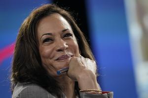 Kamala Harris, candidata demócrata a la vicepresidencia de EEUU.