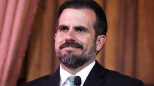 El gobernador de Puerto Rico,Ricardo Rosselló.