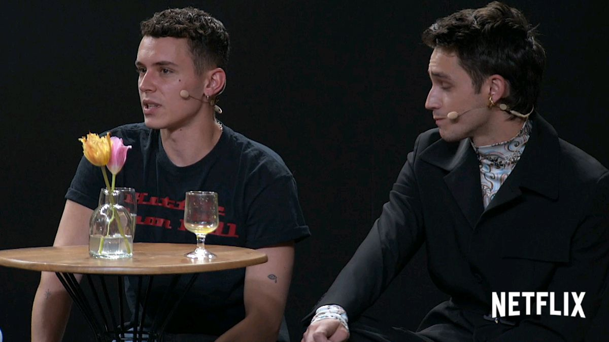 Arón Piper (Ander) y Manu Ríos (Patrick) hablan de la cuarta temporada de 'Élite'.