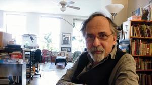 El historietista Art Spiegelman, en su estudio.