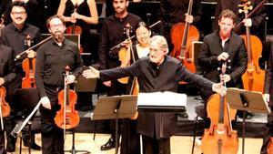 Jordi Savall yLe Concert de Nations, hace un año, en el ciclo Música Antiga en el Auditori.