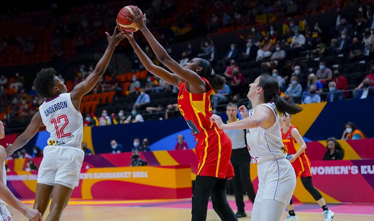 Sèrbia aparta Espanya de la lluita per les medalles de l'Eurobàsquet