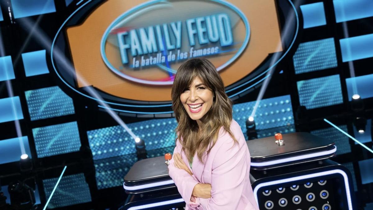 'Family Feud: la batalla de los famosos' ya tiene fecha de estreno en Antena 3 con Lolita, Chenoa y Valls como invitados